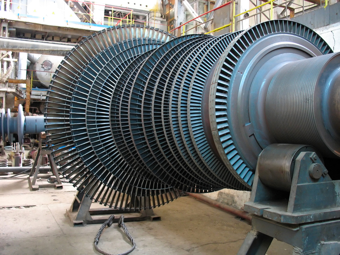 Modern Texas generating plants use combinations of natural gas and steam turbines to generate electricity.