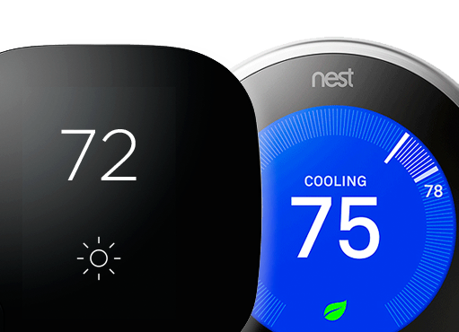 Ecobee and Nest Smart Home Thermostats